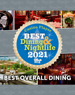 Turning Stone Earns Casino Player Magazine's 2021 Best Overall Dining in New York Award